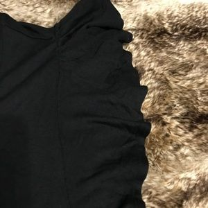 Old Navy Tops - Old Navy Black Flutter Sleeve XL Shirt